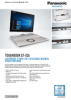 TOUGHBOOK XZ6 Spec Sheet / English